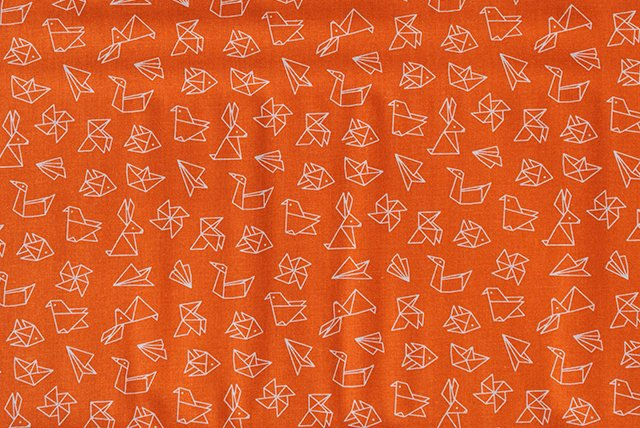 tela-figuras-de-papel Barcelona Fabrics