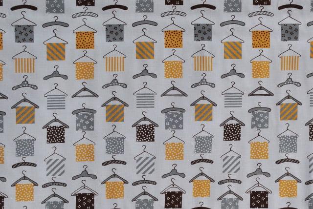 Tela Perchas Barcelona Fabrics