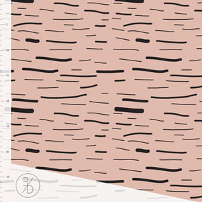 Pink Stripes Elvelyckan