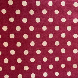Loneta color vino topos natural Sevenberry