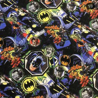 Tela algodón Batman