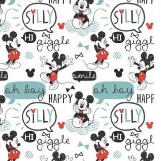 Tela algodón Mickey