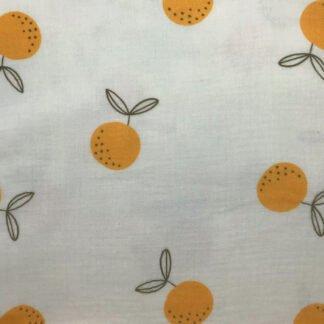 Muselina orgánico naranjas