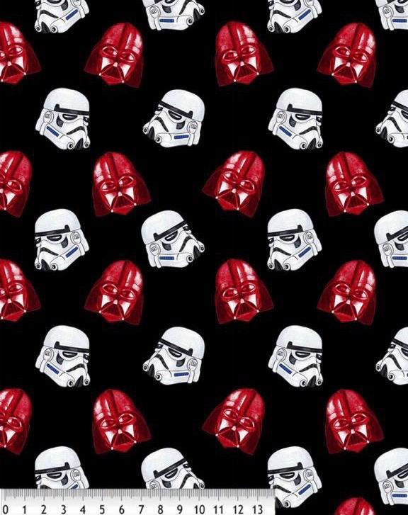 Tela algodón Darth Vader