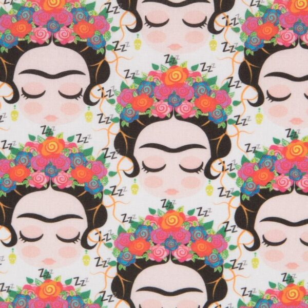 Tela algodón Frida Kahlo