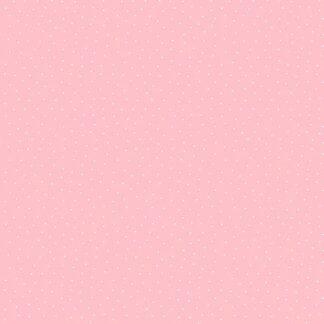 Tela algodón topos rosa
