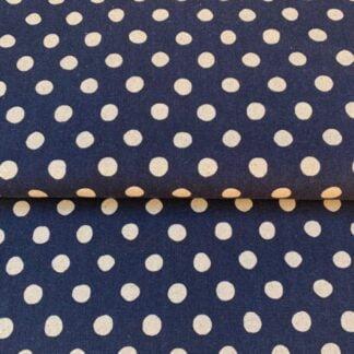 Loneta azul topos Sevenberry