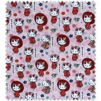Tela algodón Kitty 2