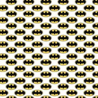 Tela algodón logo Batman