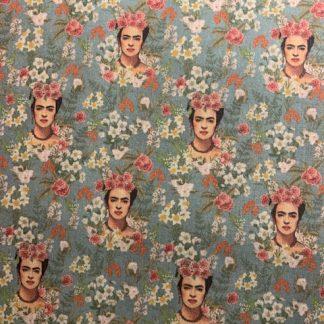 Tela algodón Frida campo de flores