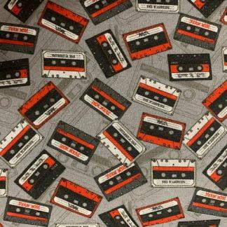 Tela algodón Cintas de Cassette