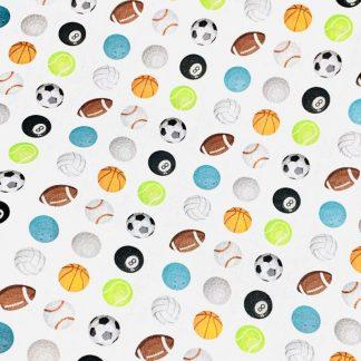 Tela algodón Balls