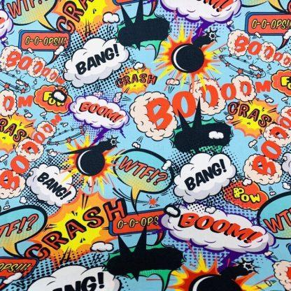 Tela algodón Comic Maxi