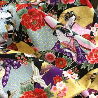 Tela algodón Geisha