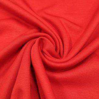 Tela punto de chandal rojo
