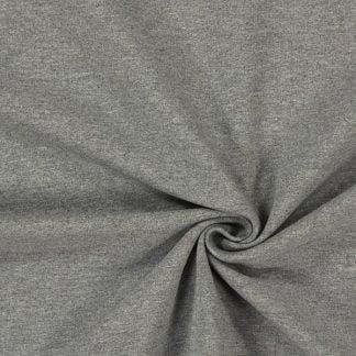 Tela sudadera gris