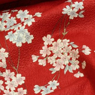 Tela algodón Shidare Sakura
