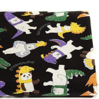 Tela algodón Costume Animals de Kokka Fabrics