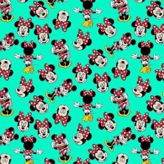 Tela algodón Minnie