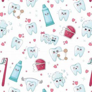 Tela algodón dentista 2