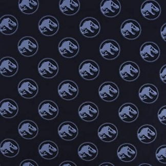Tela algodón logo Jurassic World