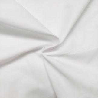 Tela algodón orgánico blanca