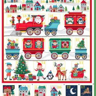 Calendario Adviento Papa Noel Makower UK